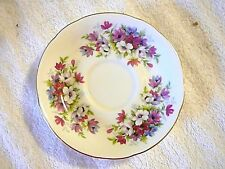 "PARAGON FOOTED ""FLOWER FESTIVAL"" SAUCER ONLY ""J"", Excellent Condition"