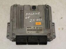 RENAULT MEGANE MK2 2.0 DCI 2007 ENGINE CONTROL UNIT ECU Steuergerät 0281011814