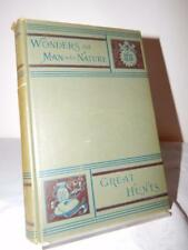 WONDERS OF MAN AND NATURE GREAT HUNTS Victor Meunier 1st/1st Rare HC 1886