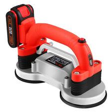 Automatic Tile Machine Tiles Vibrator Floor Vibrator Leveling Tool w/ 2 Battery