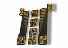 Rock Shox Rs1 2018 Fork Decal Mountain Bike Cycling Sticker Adhesive Gold Gray
