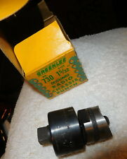 "Vintage 1 5/32"" Greenlee Round Radio Chassis ROUND Punch Tool #730; Die Tool,box"