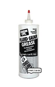 1-Pint, Farm Oyl Fluid Gear Grease high performance #00 Grade Lithium Grease16OZ