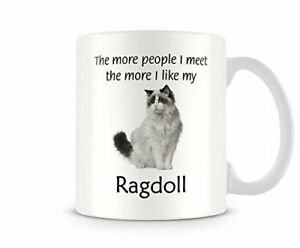 I Like My Ragdoll - Funny Cat Mug by Behind The Glass