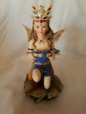 Verushimmer * Fg845 Faery Glen Guardian Zodiac Virgo Tattooed 2004 Retired Fairy