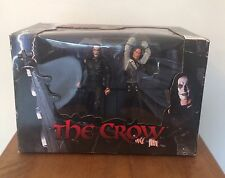 RARE NECA THE CROW ROOFTOP BATTLE ERIC DRAVEN VS TOP DOLLAR BNIB