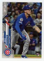 2020 Topps Update #U-251 NICO HOERNER Chicago Cubs Debut Rookie Card RC