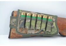 Shotgun Cartridge Holder Butt Stock Ammo Carrier  w/ 6 Pockets 12 gauge New