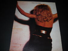 TINA TURNER Guess Who's Back? 1986 PROMO POSTER AD mint condition