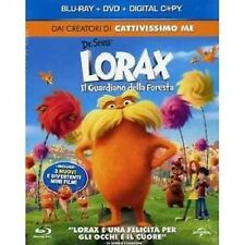 Blu Ray LORAX Il Guardiano della Foresta  (Blu-Ray Disc + Dvd + Copia Digitale)
