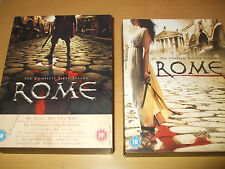 Rome The First and Second Series 11 DVD Discs / 1 + 2 / Season one & two
