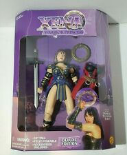 "1996 Toy Biz Xena Warrior Princess 10"" Deluxe Edition Action Figure New Nib"