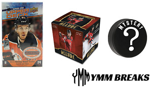 *TOMORROW* 2020-21 Series 1 + 2019-20 Allure + Signed Puck BREAK - TEAM RANDOM