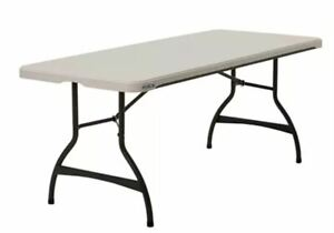 Lifetime 6' Commercial Grade Stacking Folding Table s