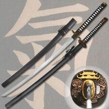 Edo Castle Japanese Samurai Katana Sword | Blood Groove Blade HIGHLY ORNATE