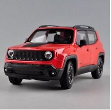 Welly 1:24 Jeep Renegade Diecast Model Sports Racing Car Toy Orange NEW IN BOX