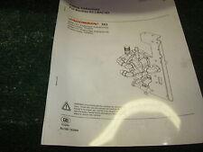Jacobsen TR 3 Back Lap Kit # LMAC161 new in box