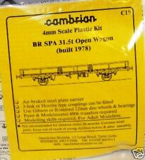 Cambrian C19. BR SPA 31.5t Open Wagon Kit.(00)