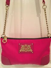 NWT Authentic Juicy Couture Pink Crossbody Bag Purse Cute!