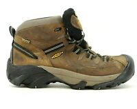 Keen Mens Brown Targhee II Waterproof Outdoor Mid Hiking Boots Size US 10 EU 43