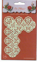 Marianne/Stencil/La Fleur/Floral/Butterfly/Corner/emboss/Stitch/Embroider/EE3434