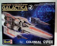 Battlestar Galactica COLONIAL VIPER 30th REVELL 2007 Model Kit NEEDS TLC