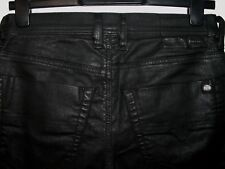 Diesel tepphar slim-carrot leather style jeans wash 0663Q stretch W28 L32 a3268