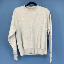Champion Mens Gray Reverse Weave Sweatshirt Top Size Small Gym Sport Vintage Ae4