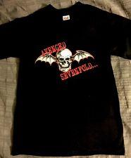 Avenged Sevenfold Tshirt Sz M Skull w Wings NEW Hopeless Records