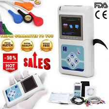TLC5000 CE&FDA 12-Channel 24 hour Heart Rate Record Holter ECG+Synchro Analysis