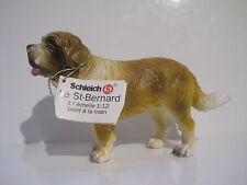 16307 -1 Schleich Dog: Saint Bernard old mold  ref: 1D347