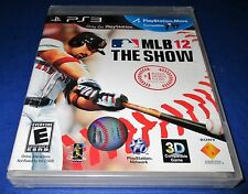 MLB 12: The Show Sony PlayStation 3 *Factory Sealed! *Free Shipping!