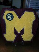 """1950s """"M"""" Soccer Varsity Patch"""