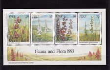 Ierland, Postfris, blok nr.10I, bloemen