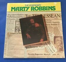 """MARTY ROBBINS  """"The Legendary Marty Robbins"""" (CBS #RB17206)) SEALED (1983)"""