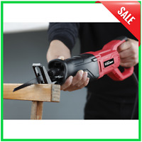 Reciprocating Saw - Corded 120V 6.5 Amp Electric Home Tool Equipment Blade Speed