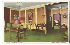 The Blackstone, Chicago, Parlor & Bed Chamber PPC, Unposted by Michigan Litho Co