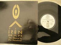 PETE TOWNSEND LP IRON MAN ex+  virgin v 2592 + booklet
