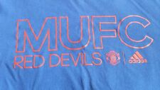 Manchester United T-shirt Blue (L) MUFC Brand New w/o tags