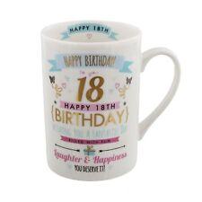 Happy Birthday 21st Signography Mug With Gift Box CM26021