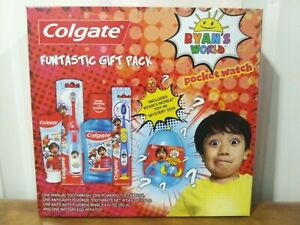 Ryan's World And Colgate Fantastic gift pack. Brand New!