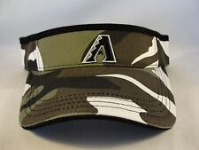 MLB Arizona Diamondbacks Vintage Camo Adjustable Strap Visor Hat Annco
