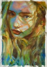 original oil on canvas Jess#1 12 x 16 inches by Brian Haberlin