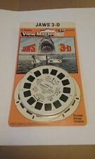 View-Master Jaws 3-D MCA Theatricals 1983 (3 Reel set Sealed)