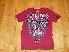 AFFLICTION Signature Series GEORGES ST-PIERRE Rush UFC MMA MENS T Shirt Medium