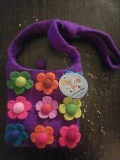 Archimedes Wear- Purple Bag (Flowers)
