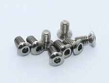 J&L Titanium/Ti CLEAT Screws*8pc Only Fit SpeedPlay Zero Aero&Ultra Light Action