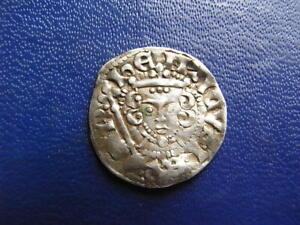 Henry III Silver Voided Long Cross Penny, Class 5(a-b) London 1216-47