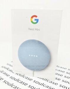 New Google Nest Mini (2nd Generation) Smart Speaker - Sky