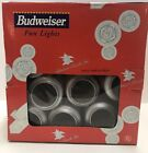 NEW- Budweiser Cans Patio String Lights,
